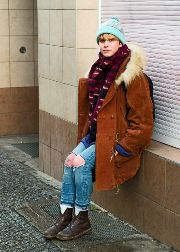 Portraits on the streets of Berlin, for NEON Magazine