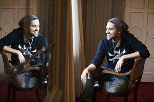 Der Geiger David Garett im Berliner Hotel Westin Grand (Portraits)