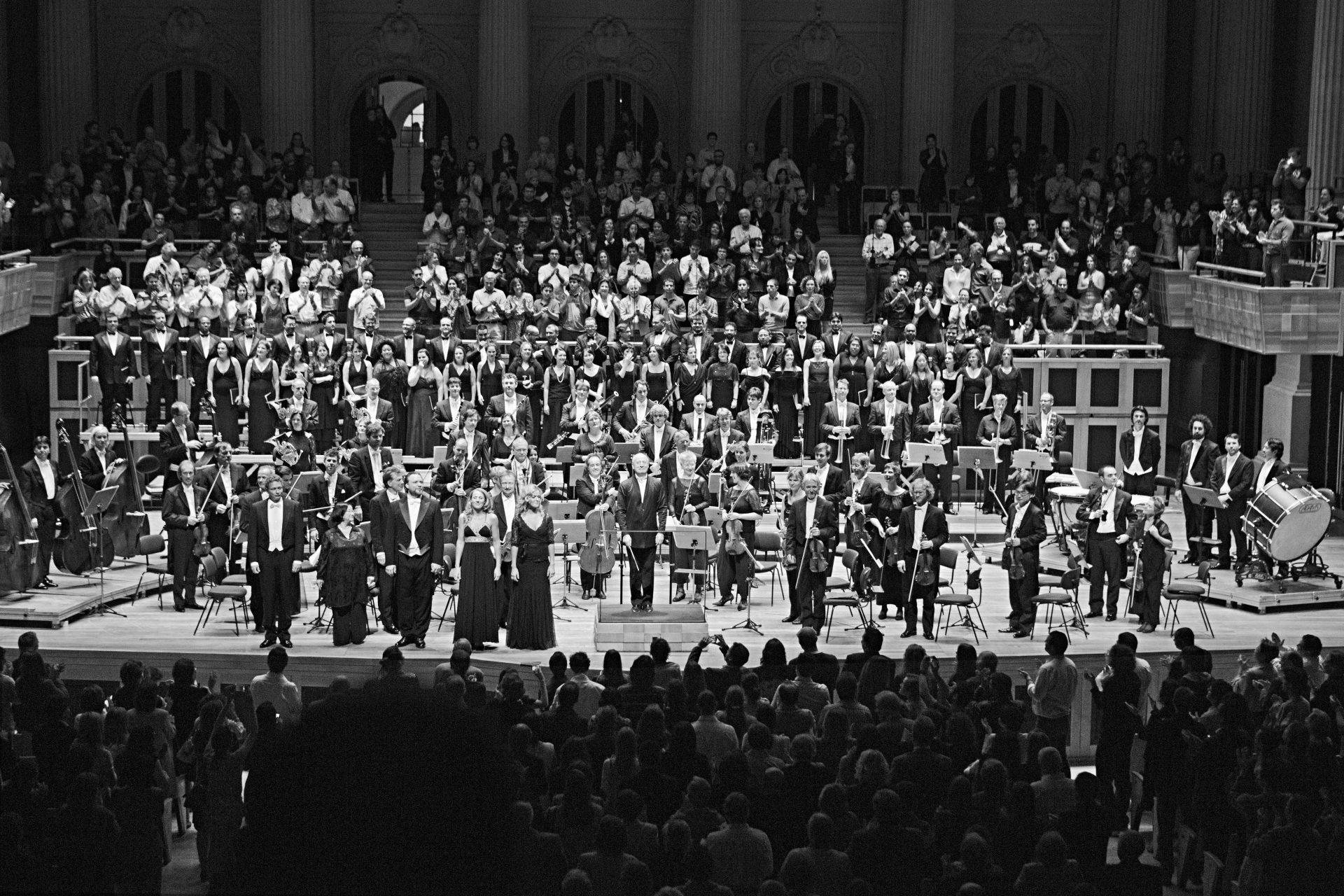 Die deutsche Kammerphilharmonie Bremen in Sao Paulo (In Tune – Variations on an Orchestra)