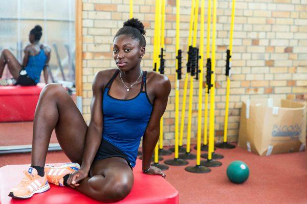 Lisa-Marie Kwayie, athletic, for taz - die tageszeitung