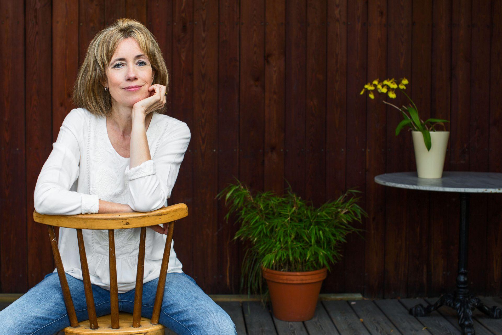 Charlotte Link, Schriftstellerin, writer, Berlin 9.9.2016 (Portraits)