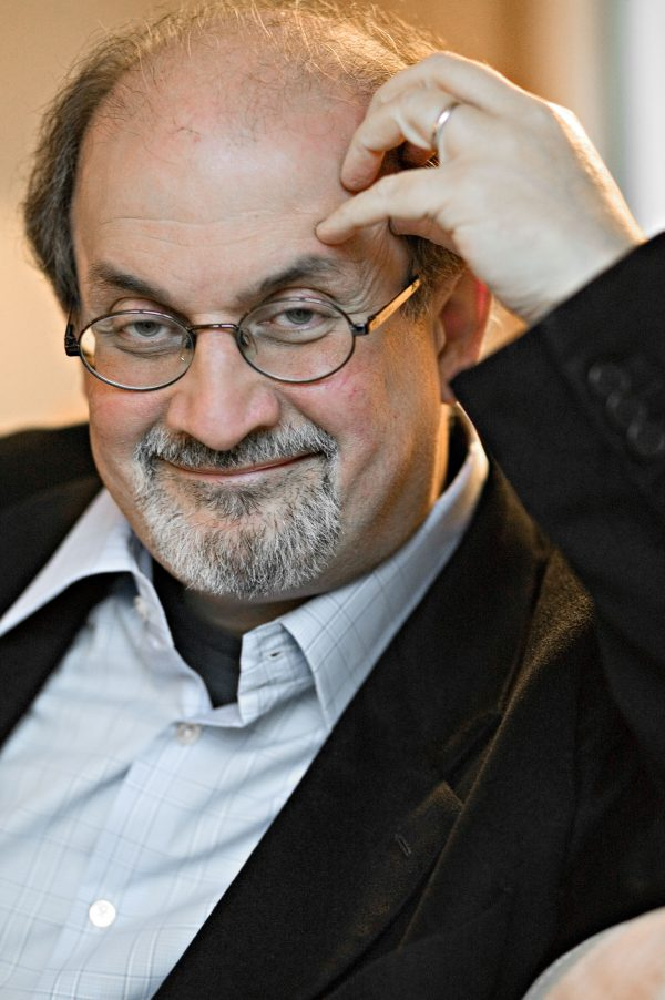 Salman Rushdie, writer, for FAZ