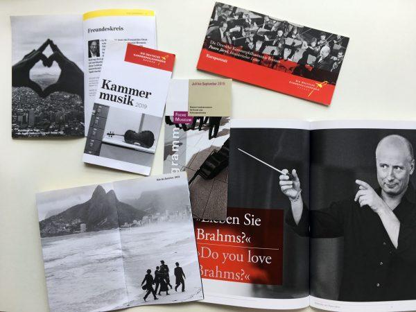Corporate Publications, The Deutsche Kammerphilharmonie Bremen