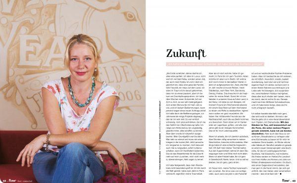 Kat Menschik, flow Magazine